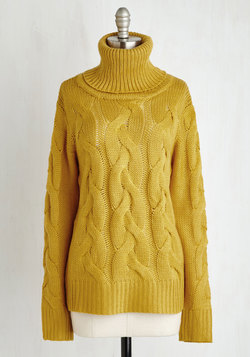 Plait It Safe Sweater