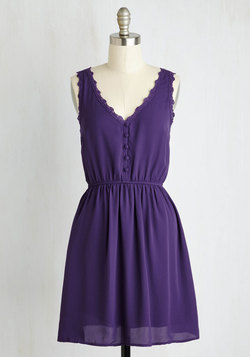 Farmer's Market Must-haves Dress in Purple