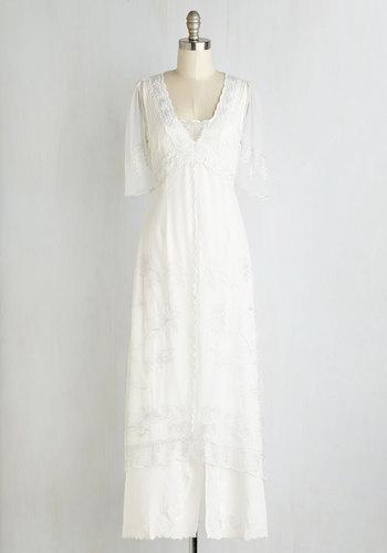 Walking on Era Dress in Blanc $199.99 AT vintagedancer.com