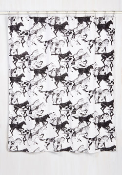Stampede of Approval Shower Curtain