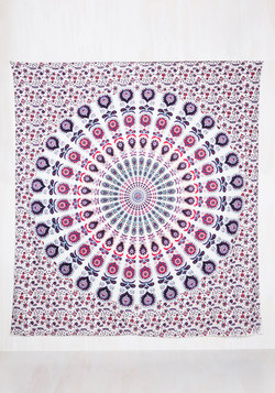 It's Wall for You Tapestry in White