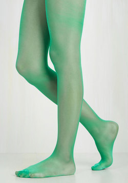 A Girl Can Sheen Tights