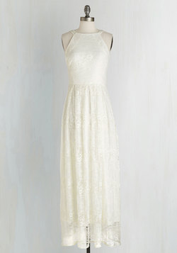 With Style and Lace Dress in Ivory