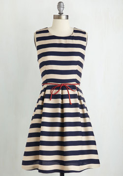 Line and Dine Dress