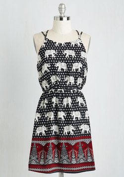 Pachyderms and Conditions Dress
