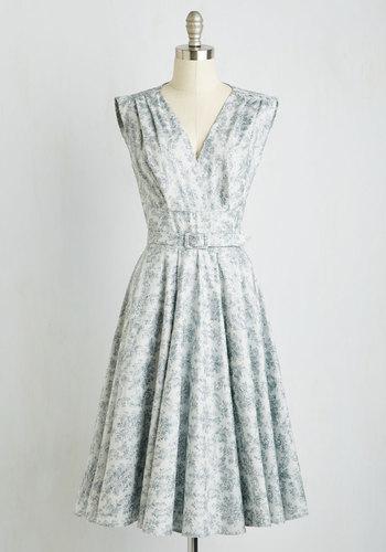 Endear Everyone Dress in Mist $169.99 AT vintagedancer.com