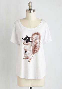 Take the Squirrel by Storm Top