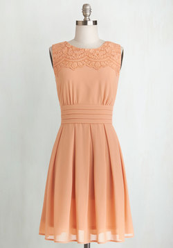 V.I.Pleased Dress in Peach