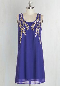 Everything Exquisite Dress in Indigo