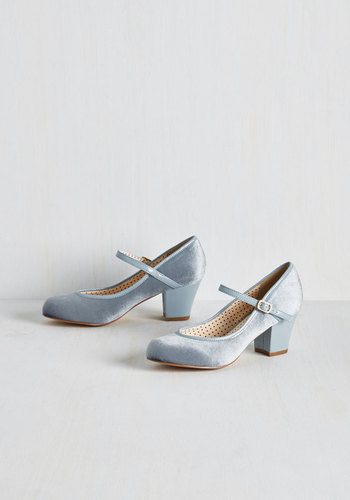 Make a Debut of It Heel $71.99 AT vintagedancer.com