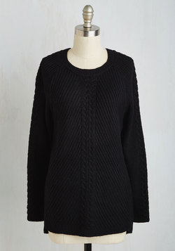 Snuggly Staple Sweater
