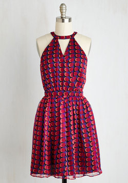 Curvilinear Thinking Dress
