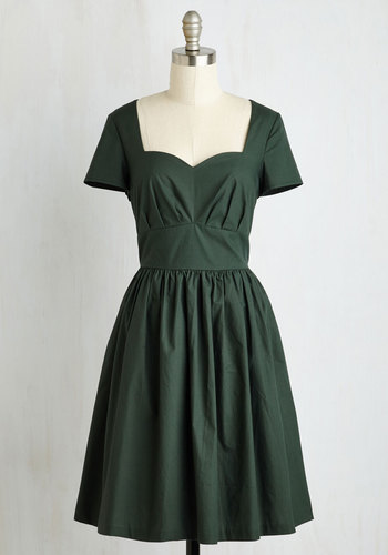 Charm Convention Dress in Forest