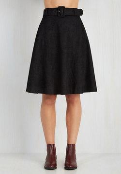 Flirty Foundation Skirt in Black