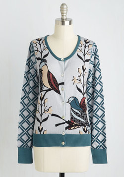 Birds of Affection Cardigan