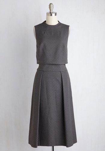 Keep Up the Good Perk Two-Piece Dress
