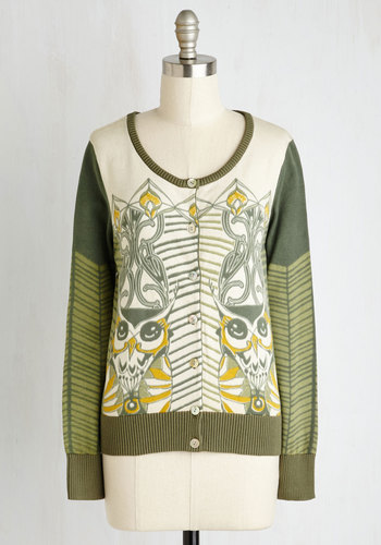 Owl of My Attention Cardigan