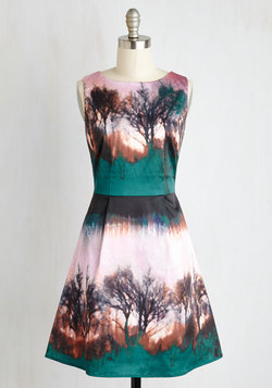 See the Forest for the Artistry Dress