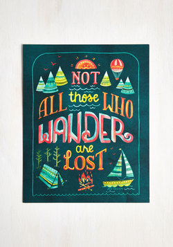 Full of Wander Print