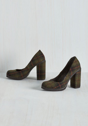 Go With Your Strut Heel $89.99 AT vintagedancer.com