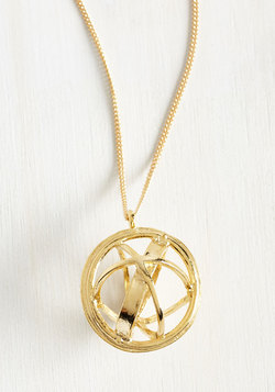 Sphere's the Deal Necklace