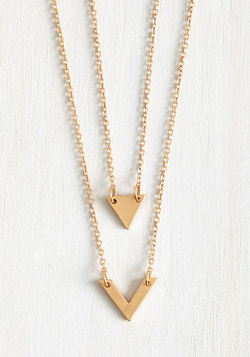 Never Know 'Til You Tri Necklace Set