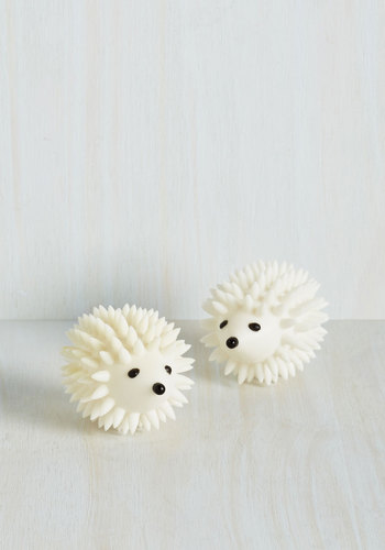 A Spike in Softness Dryer Buddies by Kikkerland - Best Seller, Best Seller, Eco-Friendly, Good, Graduation, Under $20, Woodland Creature, Quirky, Critters, Top Rated, Gifts2015