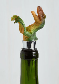Dino and Drinks Wine Stopper