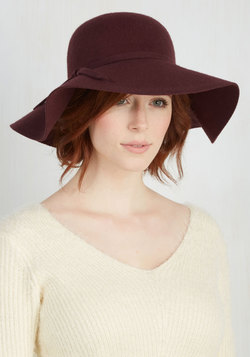 Chapeau Road Show Hat in Magenta