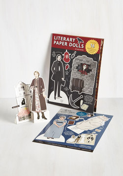 Limited Time Author Paper Doll Set