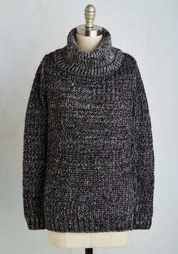 Recipe Club Sweater in Pepper