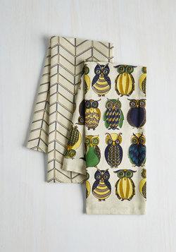 Owl the Better Dish Towel Set