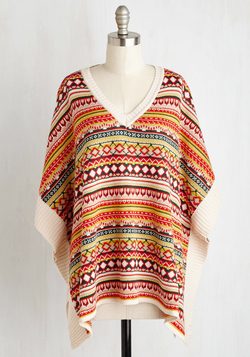 Pumpkin Patch Panache Poncho