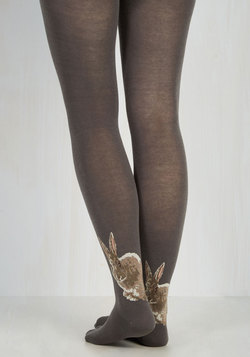 Not a Hare Out of Place Tights