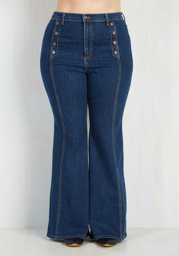 County Flare Jeans - 1X-3X
