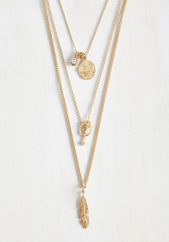 Third Chime's the Charm Necklace