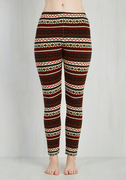 Are We Cabin Fun Yet? Leggings in Autumn