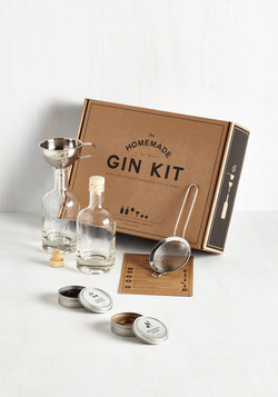 Gifts for Guys - Spirit of the Good Times Homemade Gin Kit