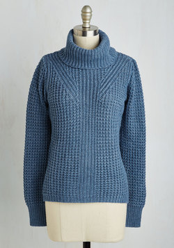 Engineer to My Heart Sweater in Cornflower