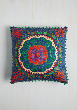 Days Glow By Pillow in Cobalt