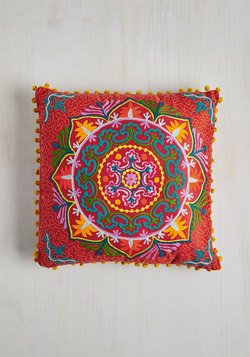 Days Glow By Pillow in Scarlet