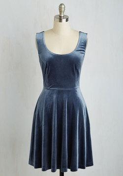 Zesty Festivities Dress in Sapphire
