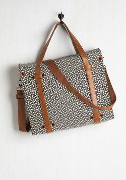 Camp Director Tote in Diamonds
