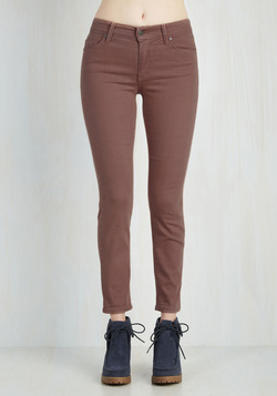 Solid Sense of Style Jeans in Mauve