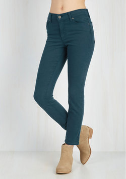 Solid Sense of Style Jeans in Lagoon
