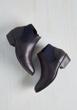 School of Walk Bootie in Navy