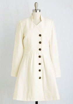 Outdoor Orchestra Coat in Ivory