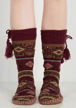 Warm and Toes-y Slipper