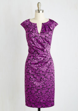 Scholars' Soiree Dress in Amethyst