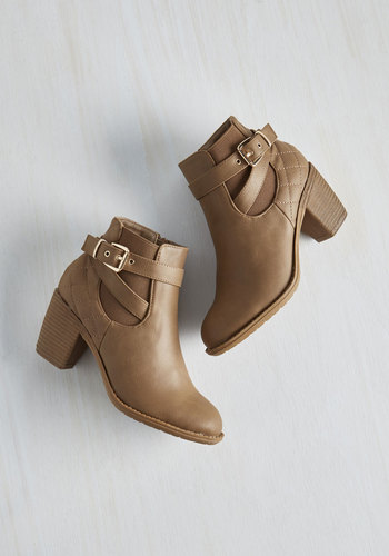 Step Up Your Fame Bootie